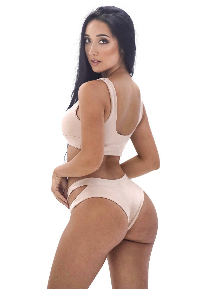 Brandi Bottom | Sand - Mahina Swimwear