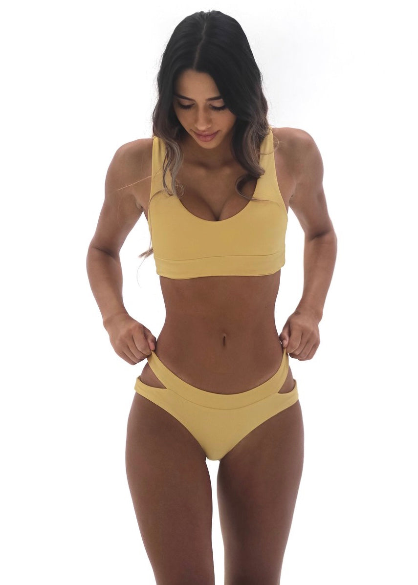 Brandi Bottom | Golden Yellow