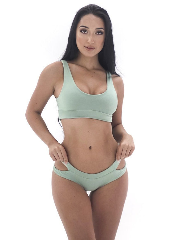 Aria Top | Sage - Mahina Swimwear