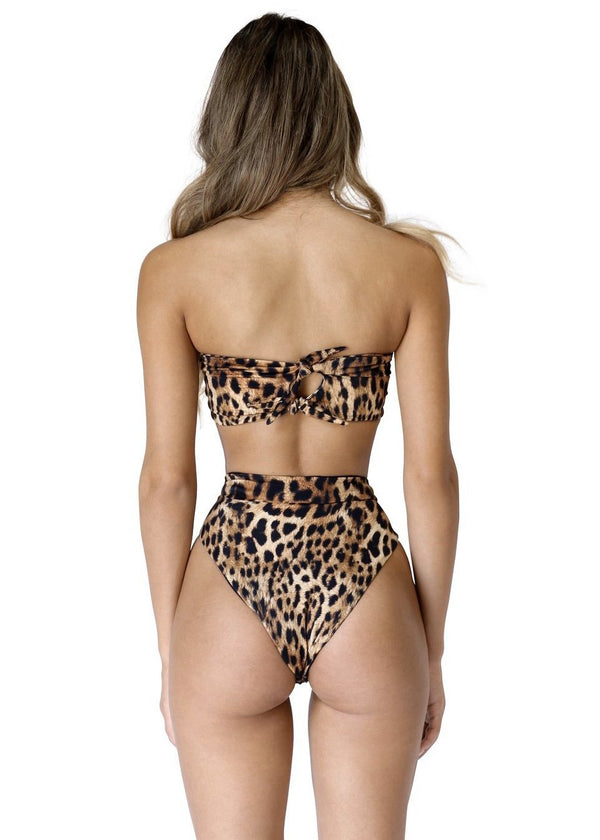 Blair Top | Sinai Cheetah - Mahina Swimwear