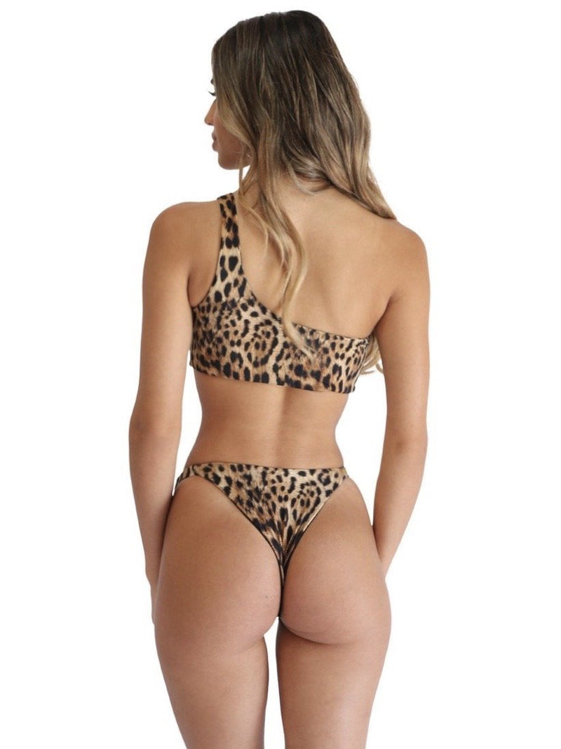 Grier Top | Sinai Cheetah - Mahina Swimwear