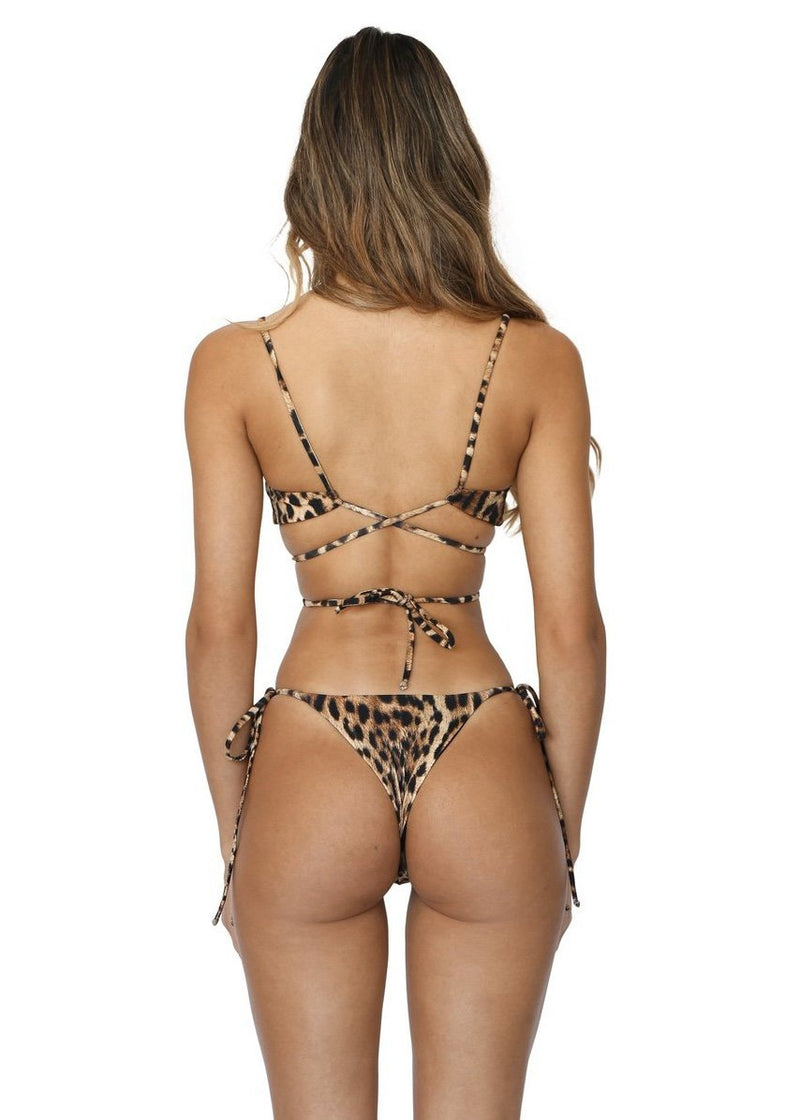 Maxine Top | Sinai Cheetah - Mahina Swimwear