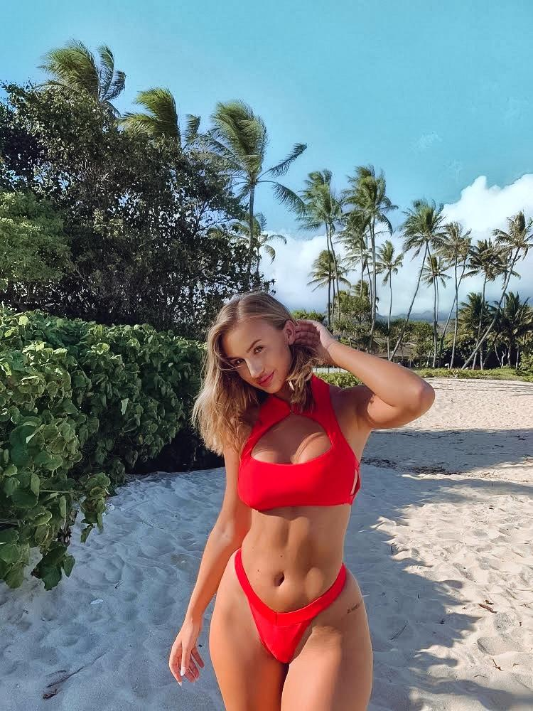 Mila Top | Red - Mahina Swimwear