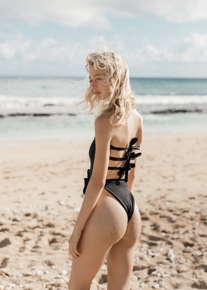 Ricci One Piece | Black - Mahina Swimwear