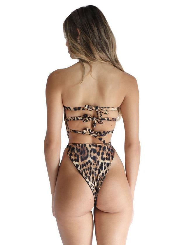 Ricci One Piece | Sinai Cheetah - Mahina Swimwear