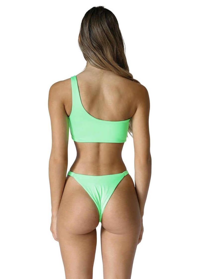 Romi Bottom | Acid Green - Mahina Swimwear