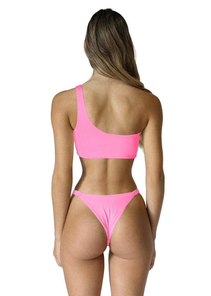 Romi Bottom | Lucid Pink - Mahina Swimwear