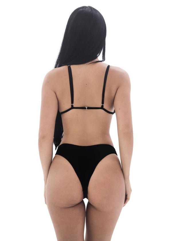 Tara Bottom 2.0 | Black - Mahina Swimwear