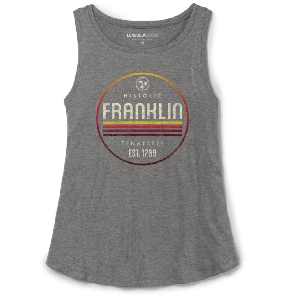 Franklin TN Tri-Flex Heather Tank