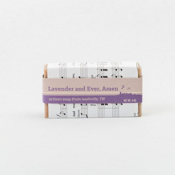 Lavender and Ever Amen Soap