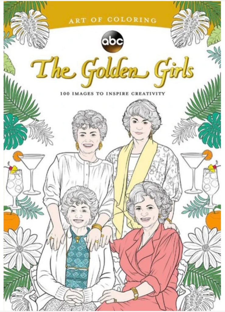 The Art of Coloring: Golden Girls