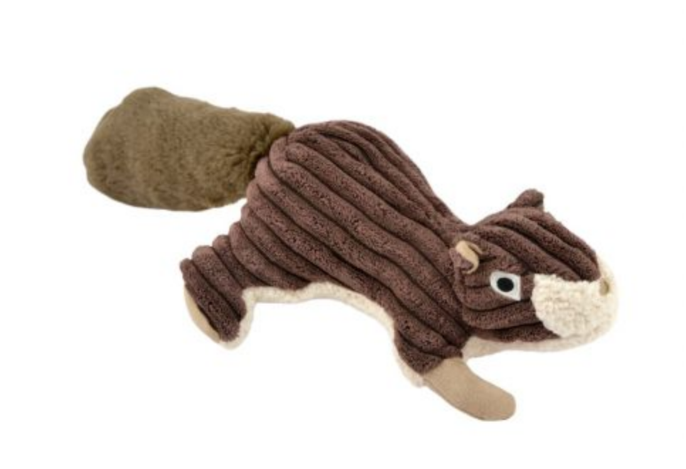 Squirrel w/ Squeaker- Brown
