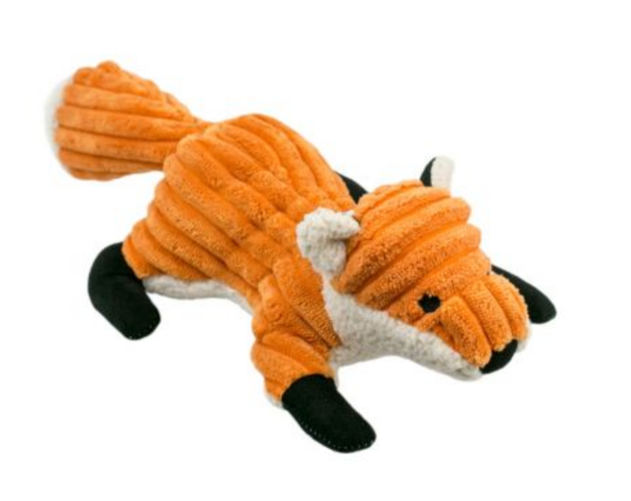Fox w/ Squeaker- Orange
