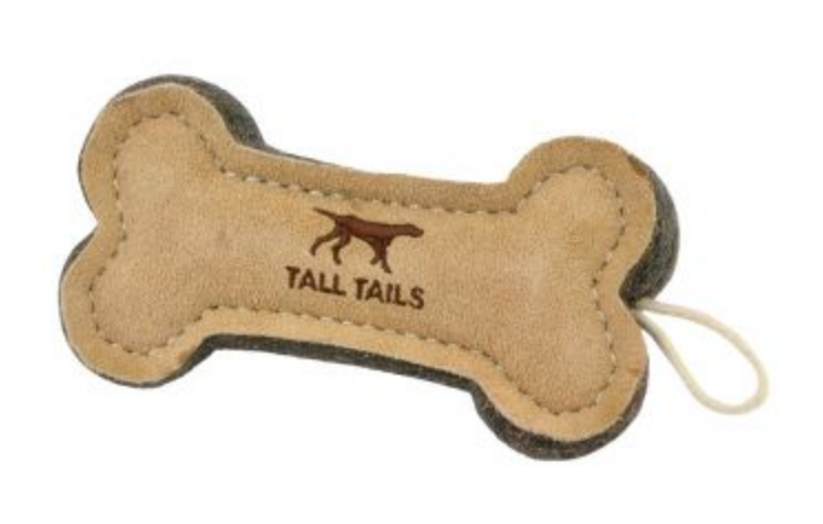Natural Wool Bone Toy