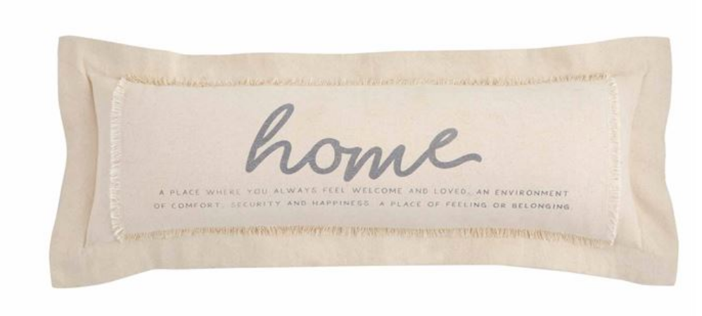 Seasonal Washed Canvas |Home Definition Pillow