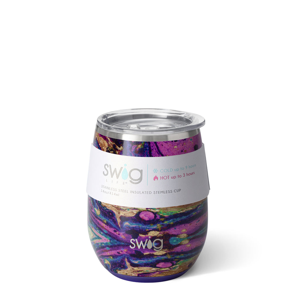Swig 14oz Stemless Wine Cup -  Purple Rain