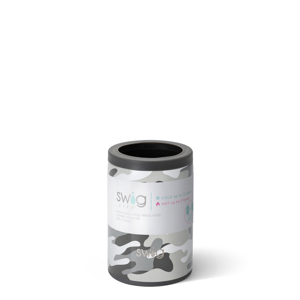 Swig 12oz. Combo Can/Bottle Cooler - Incognito Camo