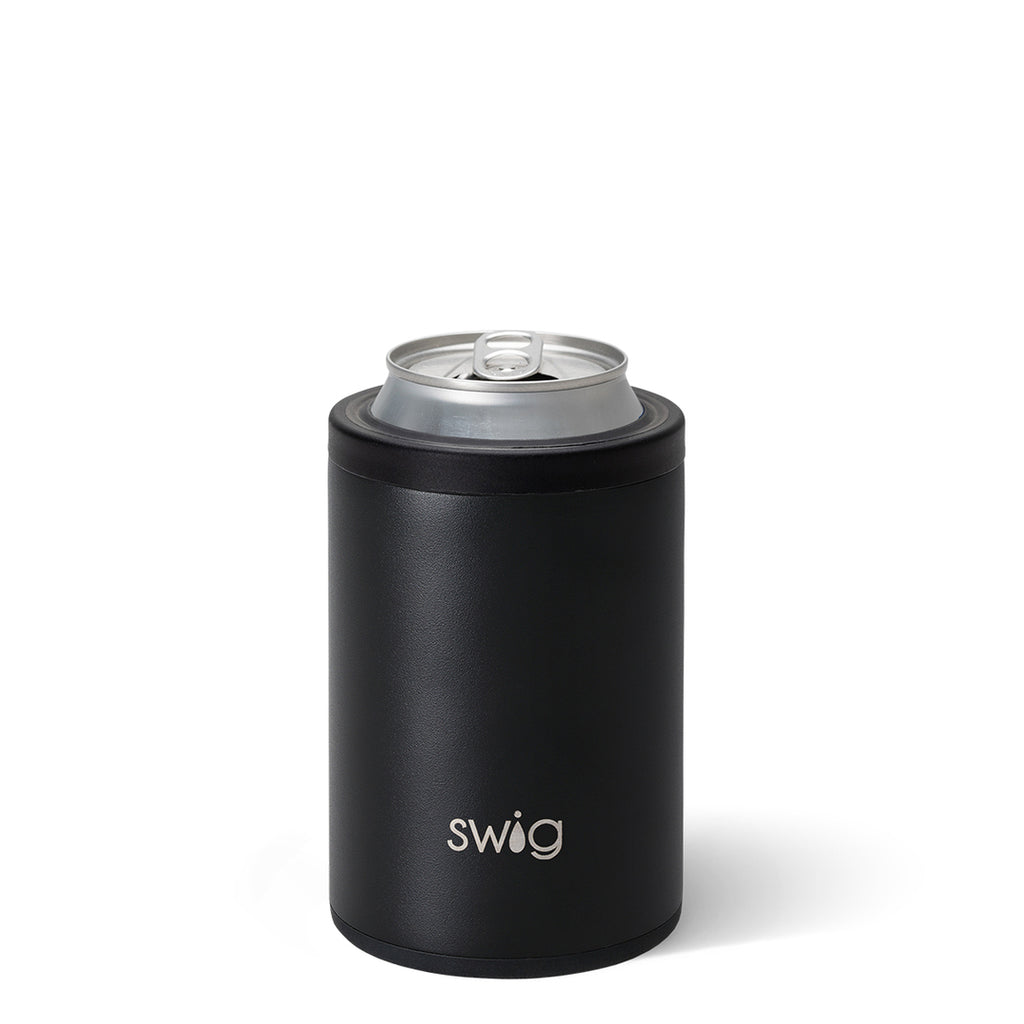 Swig 12oz. Combo Can/Bottle Cooler - Matte Black