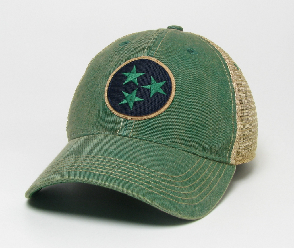 Green Tristar Trucker Hat