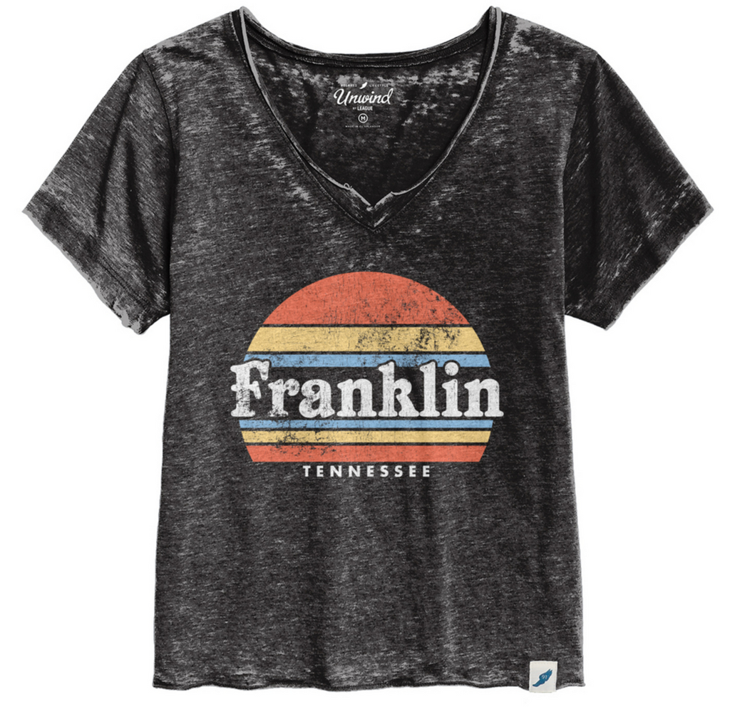 Franklin Sunset Loose Fit V-Neck