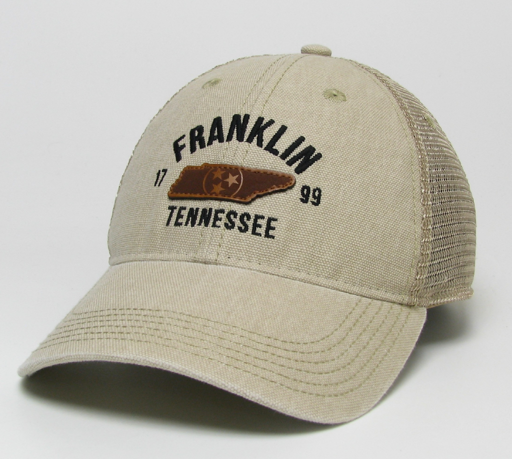Franklin Stone Trucker TN Patch