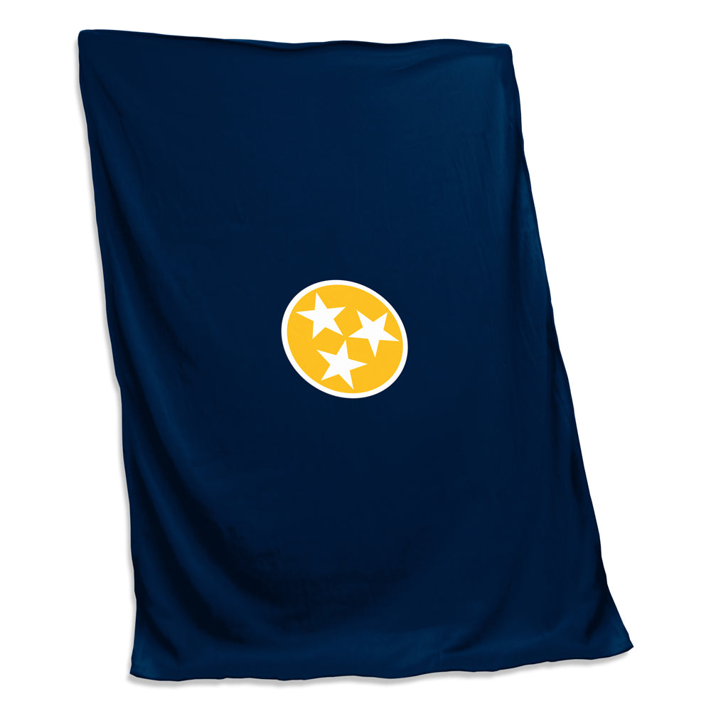 TN Tri Star Sweatshirt Blanket - Preds Navy