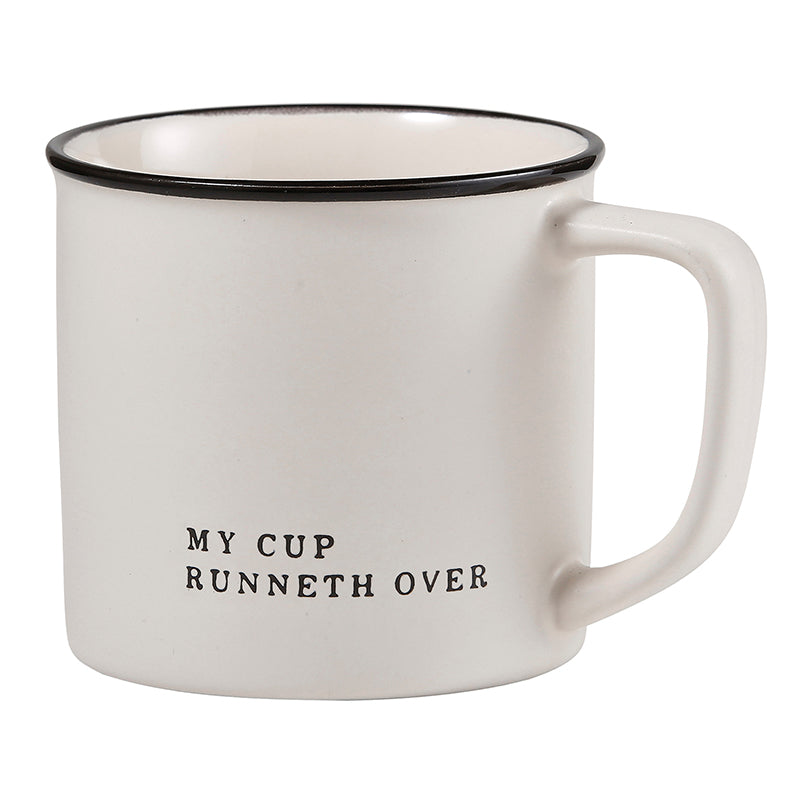 My Cup Runneth Mug