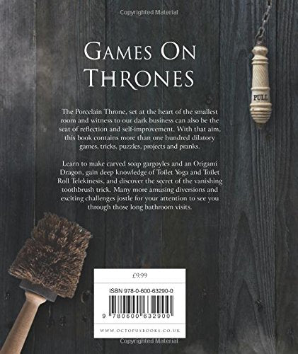 Game On Thrones Book- 100 things to do on the Loo