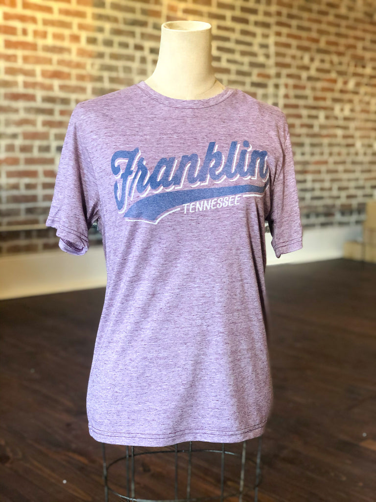 Franklin TN Maroon Reclaimed Tee