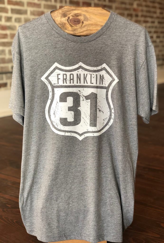 Franklin 31 Grey Tee