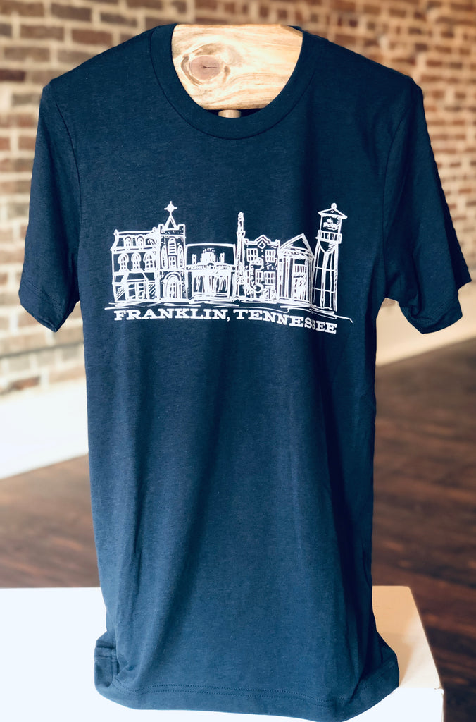 Franklin Skyline Navy Tee