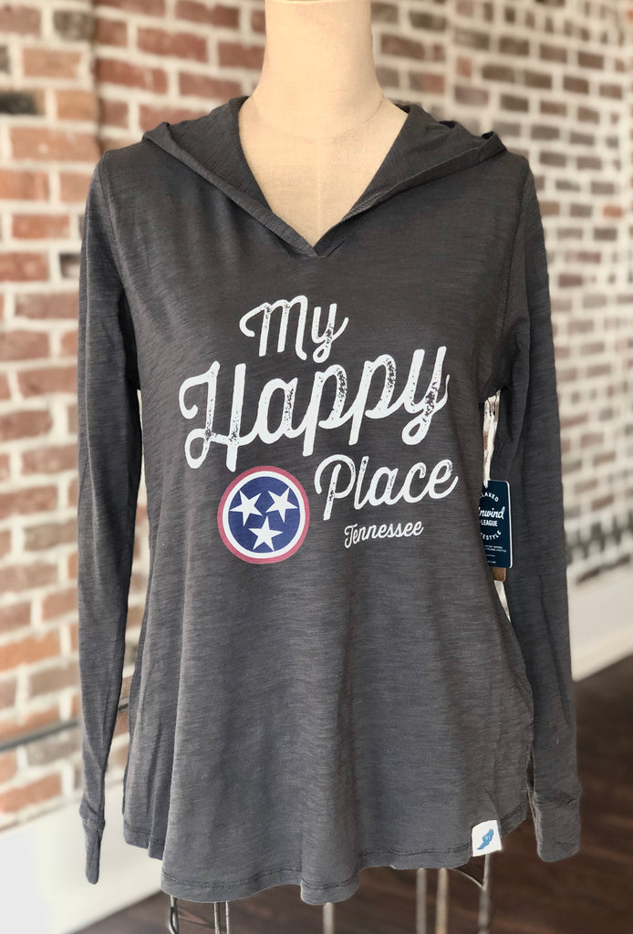 My Happy Place TN Womens Hoodie