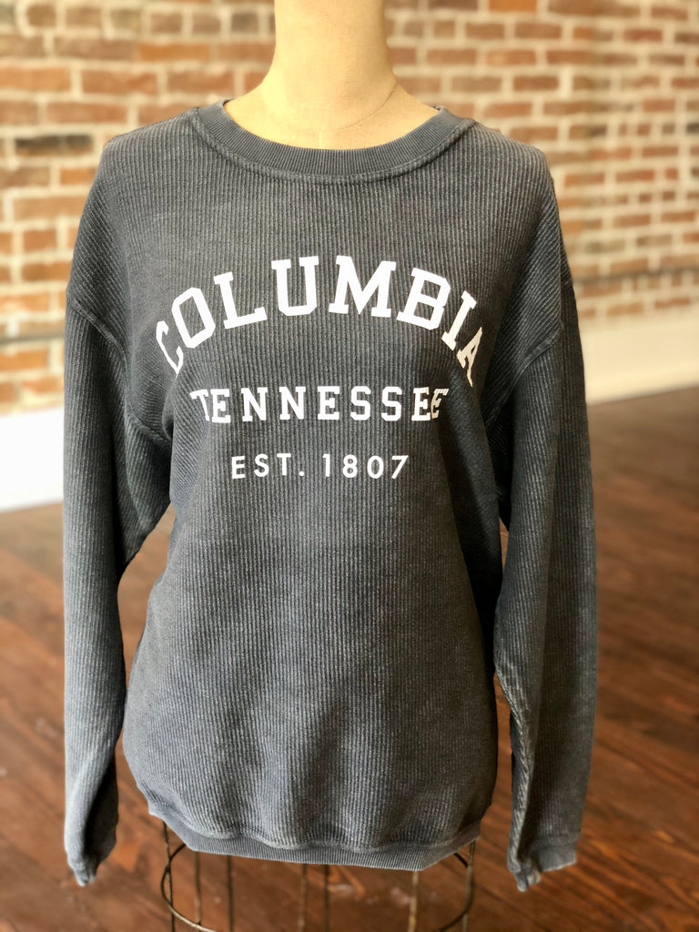 Columbia TN Corded Sweatshirt Grey