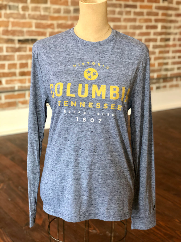 Historic Columbia Long Sleeve Tee