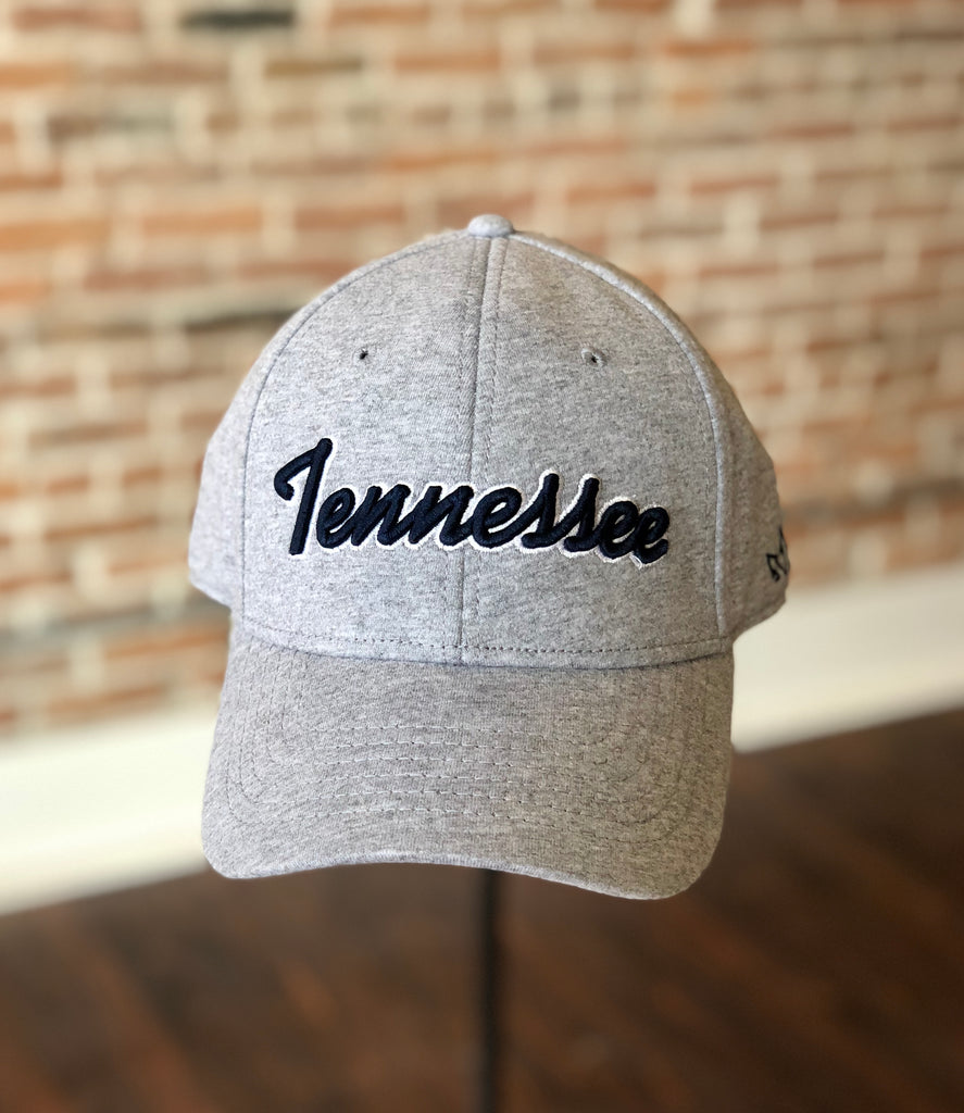 Tennessee Jersey Fitted Gray Hat