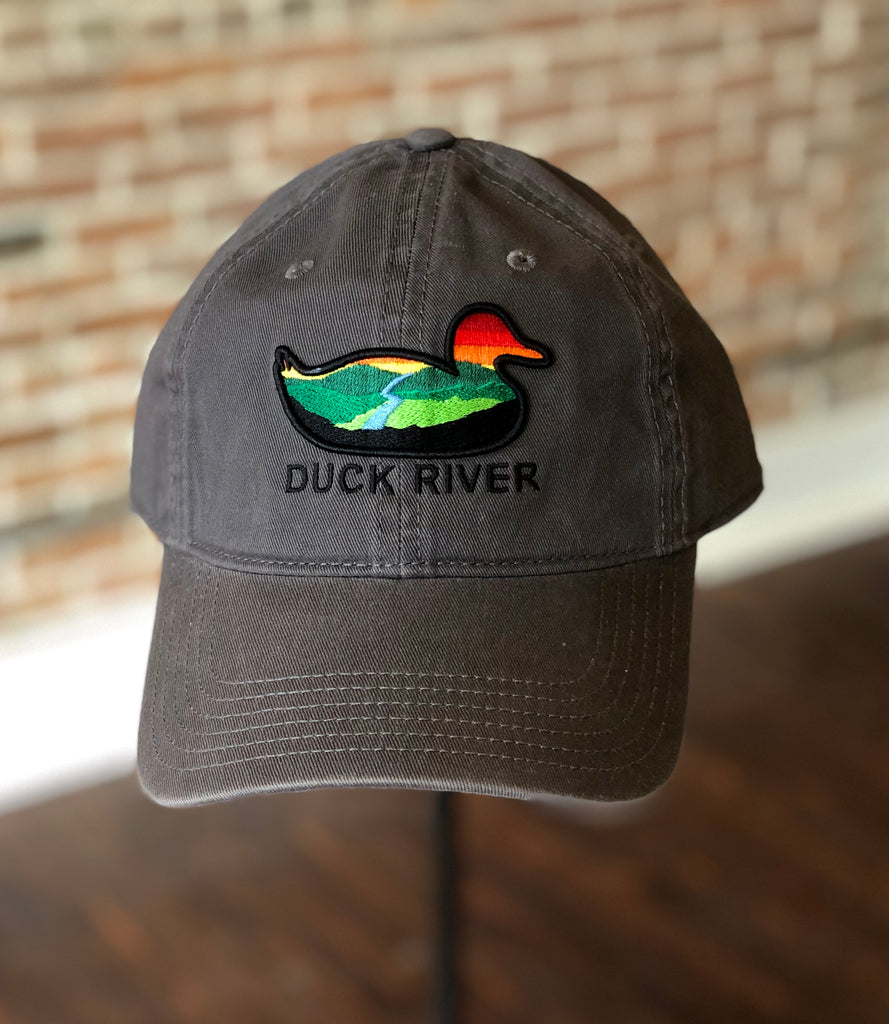Duck River Relaxed Grey Twill Hat