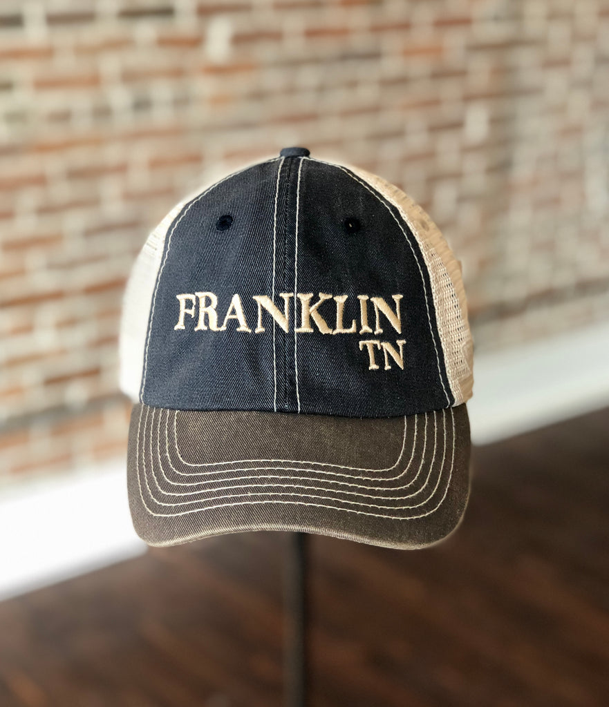Franklin Stitched Hat