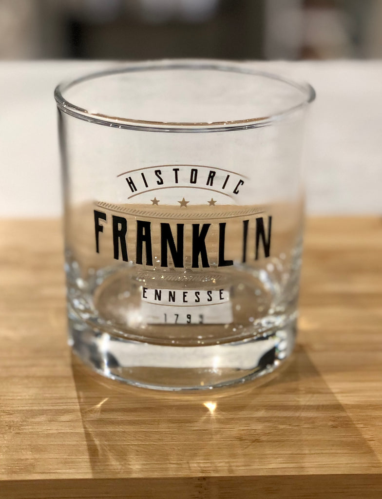 Historic Franklin Old Fashion Glass 11 Oz