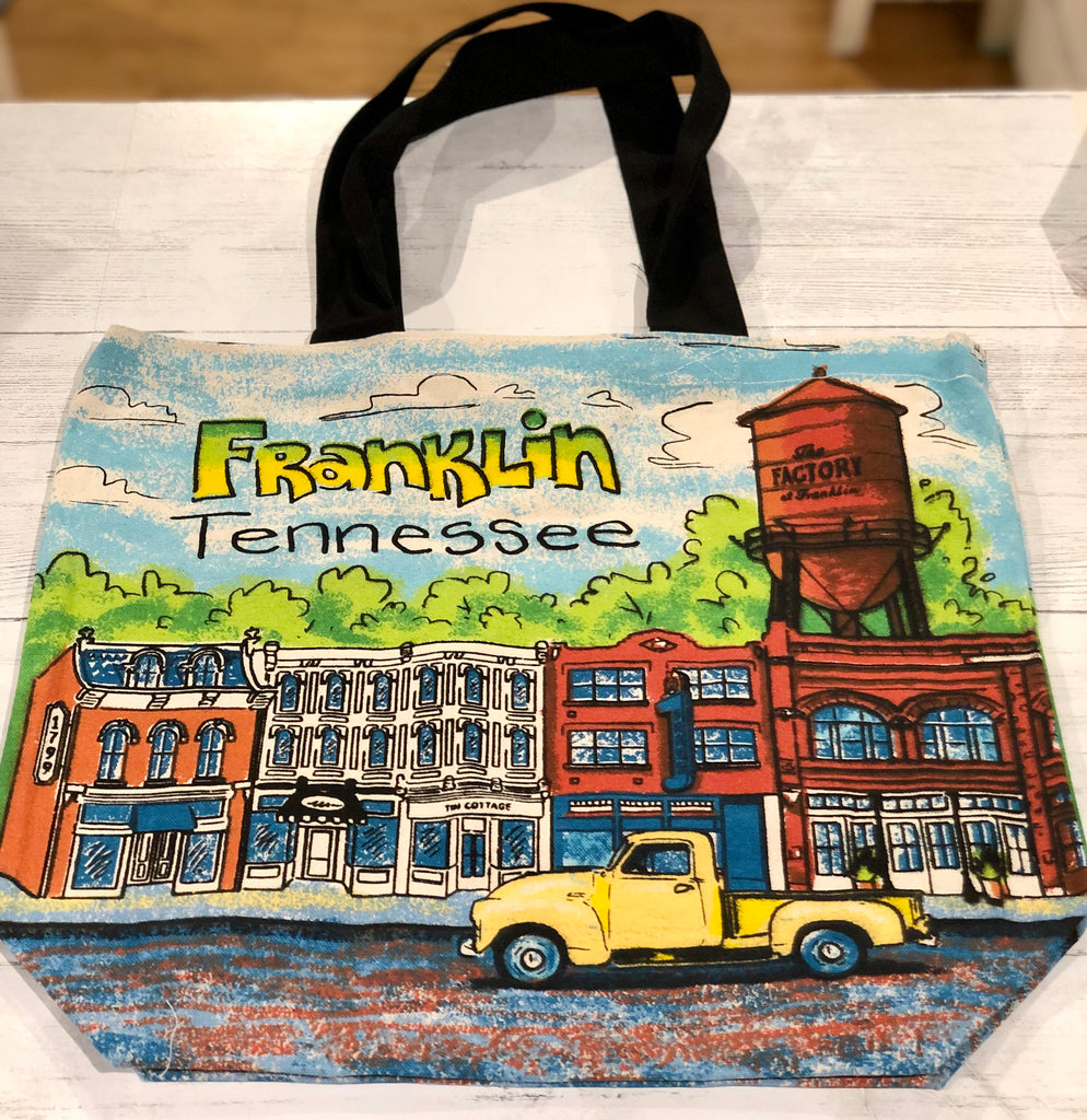 Franklin Custom Tote Bag