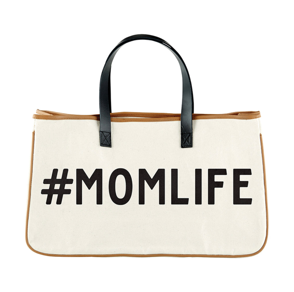 #MOMLIFE Canvas Tote Bag