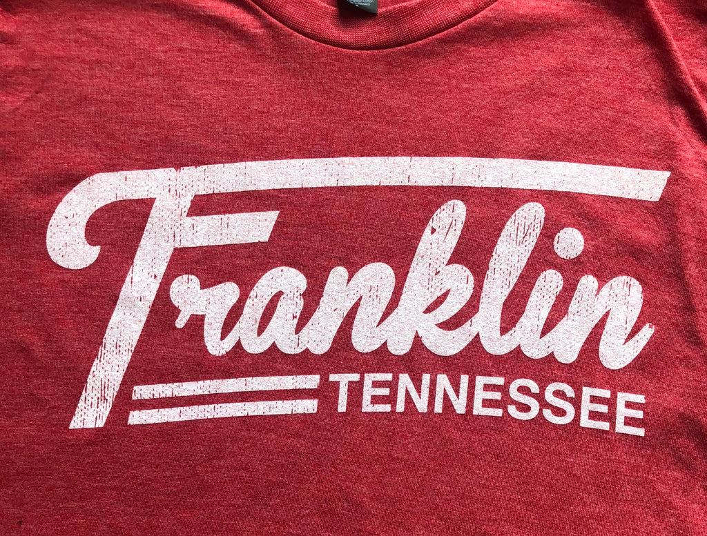 Franklin TN Red (Tractor Logo) Tee
