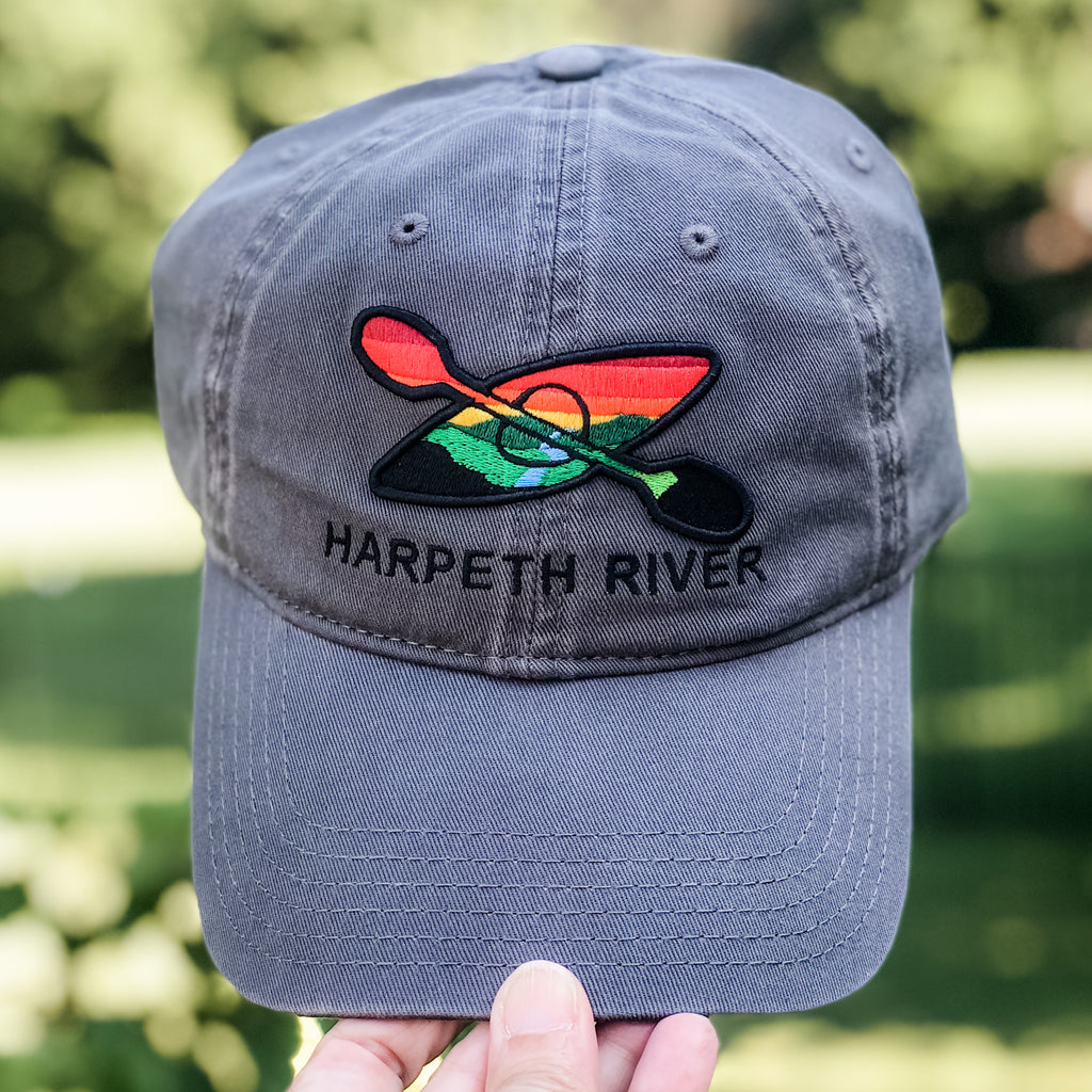 Harpeth River Grey Kayak Hat