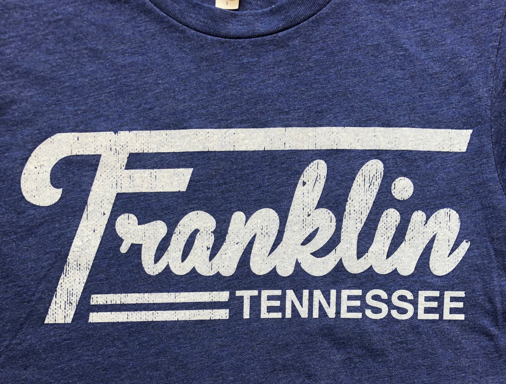 Franklin TN Blue (Tractor Logo) Tee