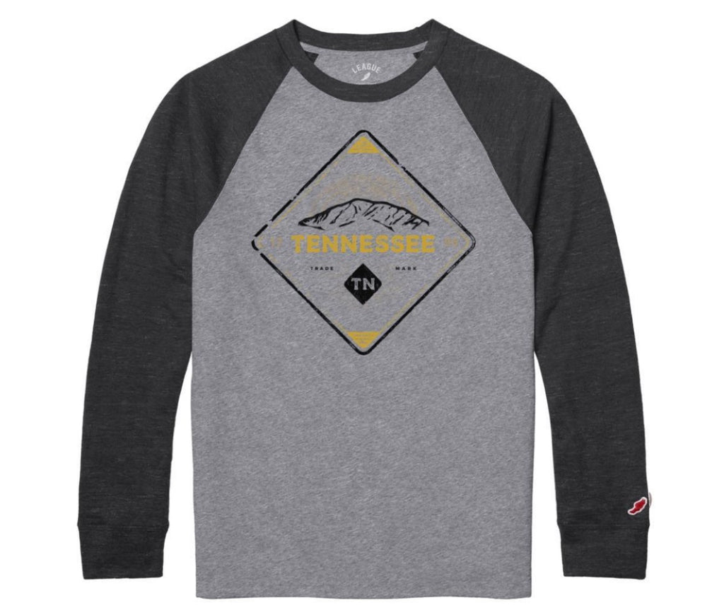 Tennessee Heather Grey Raglan