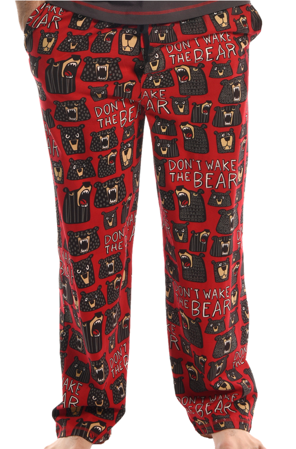 Don't Wake the Bear PJ Pants