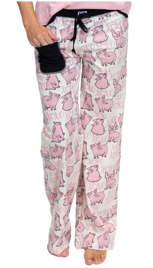 Hogs & Kisses PJ Pants