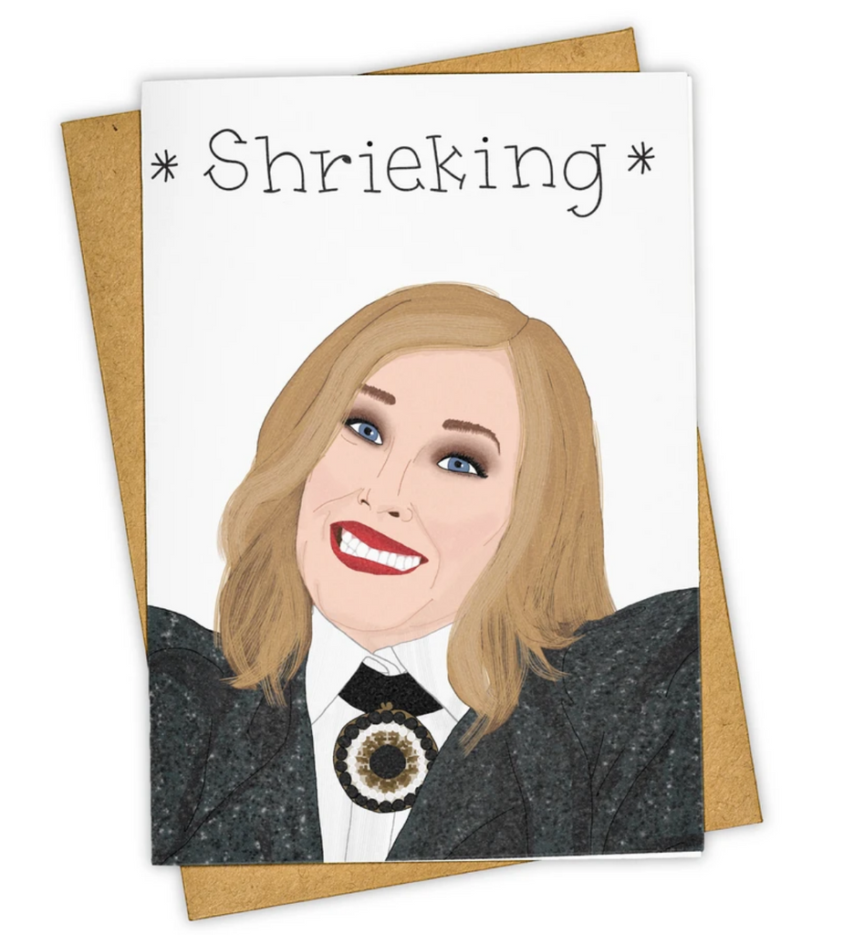 Shrieking Greeting Card