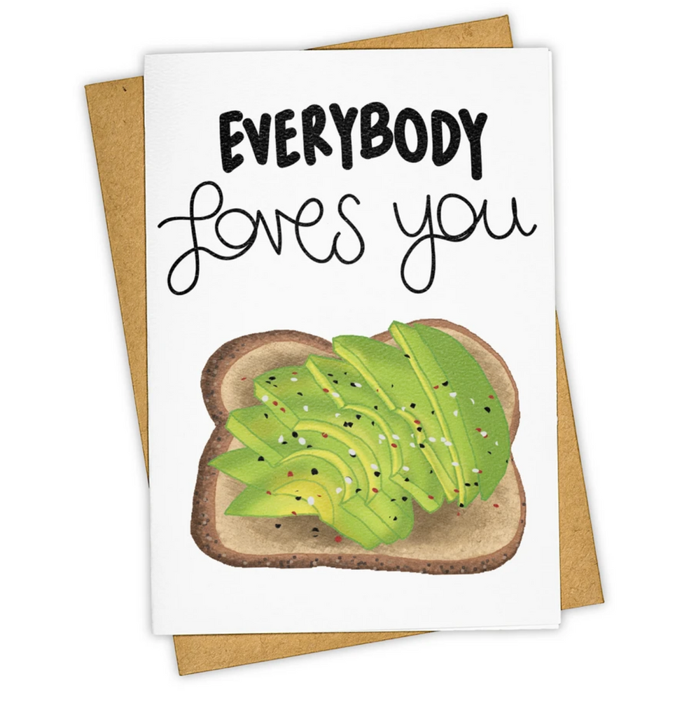 Avocado Toast Greeting Card