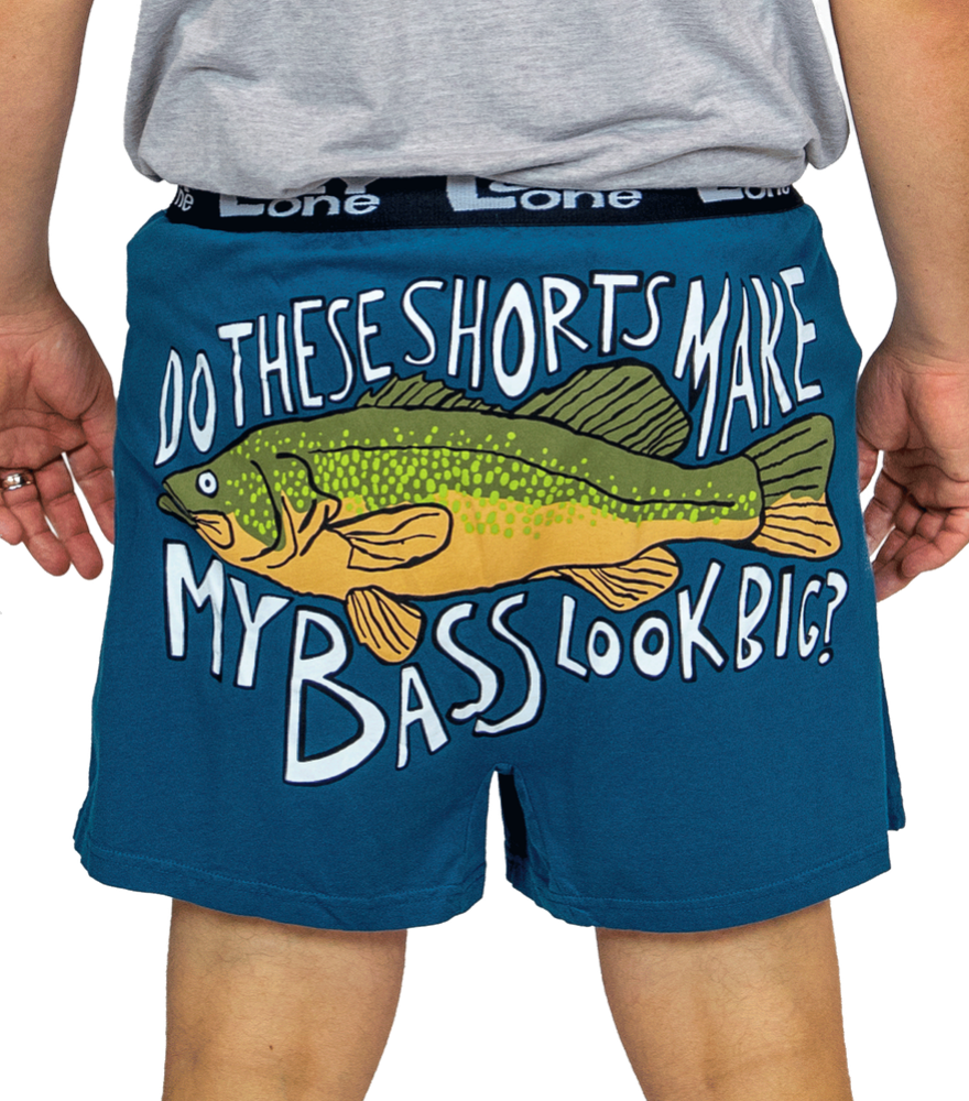 My Bass Look Big Boxers