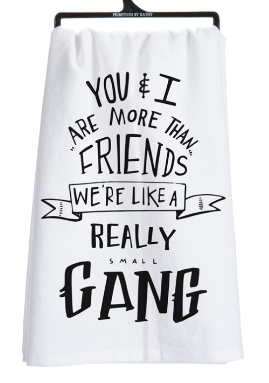 Small Gang Tea Towel